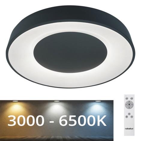 Rabalux 3082 - LED Stmívatelné stropní svítidlo CEILO LED/38W/230V černá 3000-6500K + DO