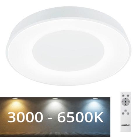 Rabalux 3083 - LED Stmívatelné stropní svítidlo CEILO LED/38W/230V bílá + DO 3000-6500K