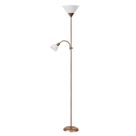 Rabalux 4065 - Stojací lampa ACTION 1xE27/100W+E14/25W