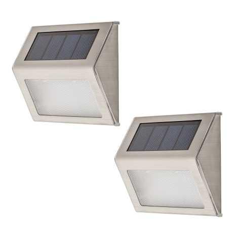 Rabalux 8784 - SADA 2x LED Venkovní nástěnné svítidlo SANTIAGO 2xLED/0,12W IP44