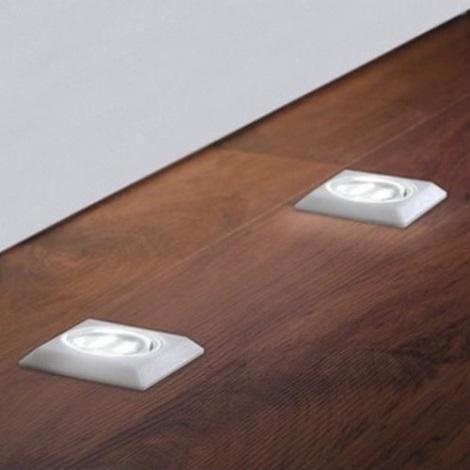 SADA 5x LED Podlahové svítidlo 5xLED/0,5W/230/12V