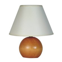 Sandria - Stolní lampa WOODEN BALL 1xE27/60W/230V