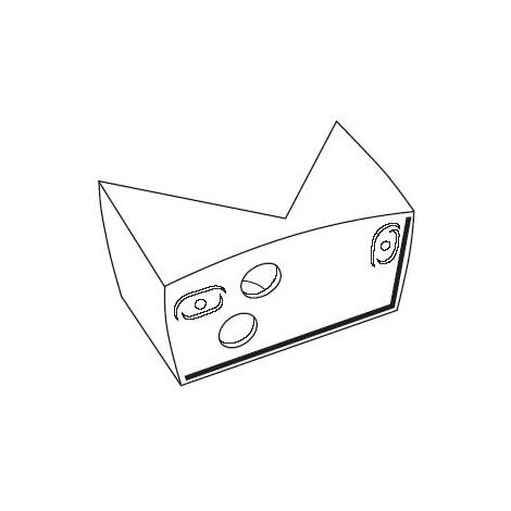 STEINEL 631765 - Rohový držák 07 bílý