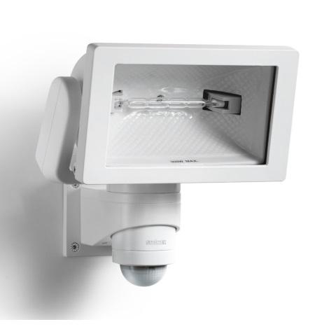 STEINEL 633318 - HS 300 DUO bílý senzorový reflektor pro venkovní použití
