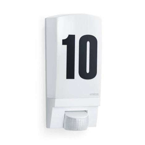 STEINEL 650513 - L1 bílá senzorová lampa pro venkovní prostory