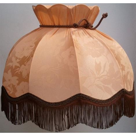 Stínidlo textilní HORTENZIA  broskev - květ