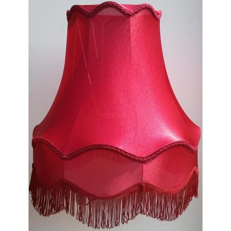 Stínidlo textilní velké HORTENZIA bordo