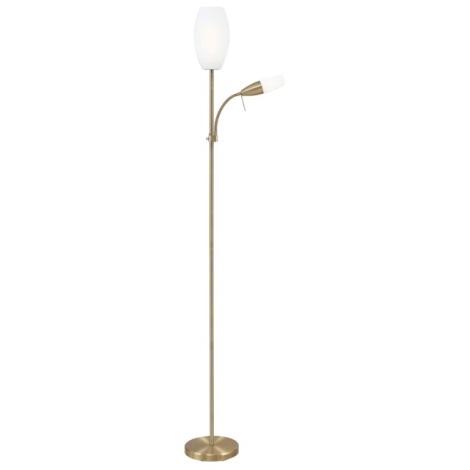 Stojanová lampa CENA 1xE27/15W + 1xE14/9W bronz
