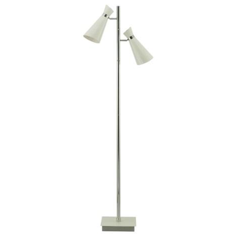Stojanová lampa FIDO 1 2xE27/60W krémově bílá