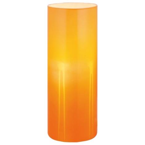 Stolní lampa MIRANDA 1xE27/60W oranžová