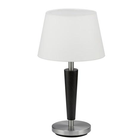 Stolní lampa RAINA 1xE14/60W antická hnědá/bílá