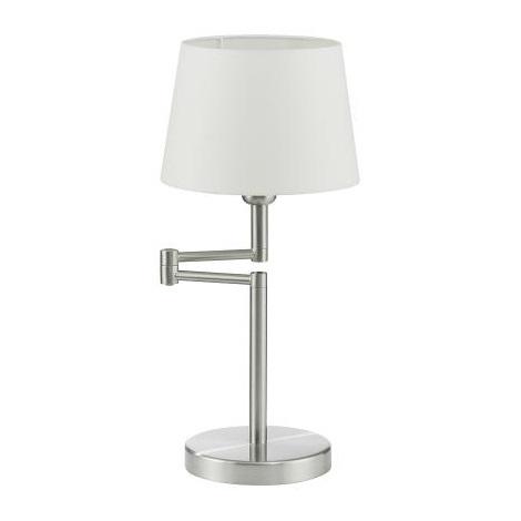 Stolní lampa SANTANDER matný chrom