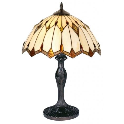 Stolní lampa TIFFANY 82 1xE27/40W