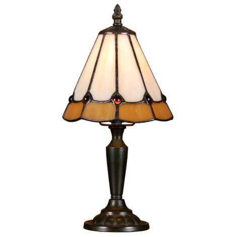 Stolní lampa TIFFANY 91 1xE14/40W