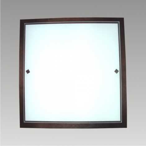Stropní svítidlo ZORBA 4xE27/60W wenge 392x392mm