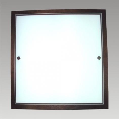 Stropní svítidlo ZORBA 4xE27/60W wenge 492x492mm