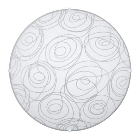 Svítidlo stropní LAURA 2xE27/60W bílá