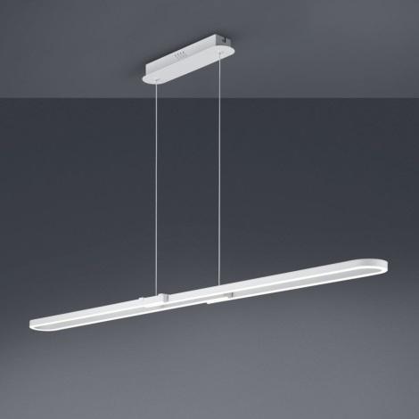 Trio - LED Stmívatelný lustr na lanku ROMULUS LED/37W/230V