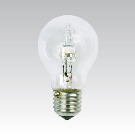 Úsporná halogenová žárovka E27/28W/230V čirá