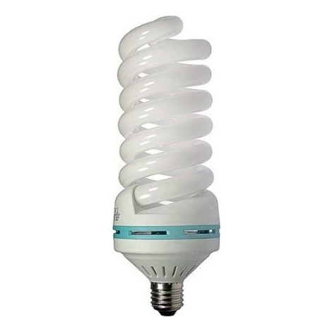Úsporná žárovka E27/55W 230V spirála, denní bílá