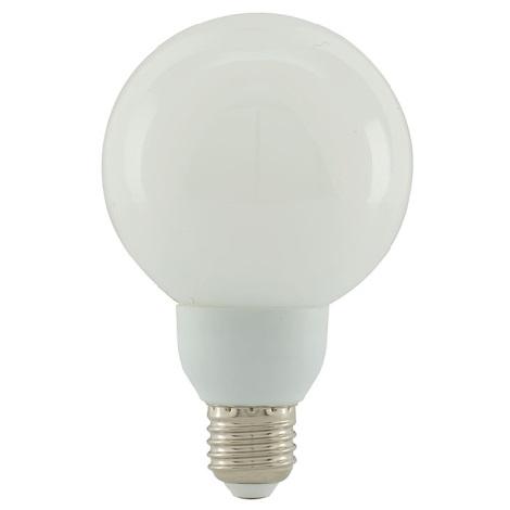 Úsporná žárovka GLOBE 1xE27/20W  bílá