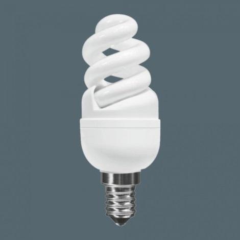 Úsporná žárovka MINI E14/11W 2700K spirála