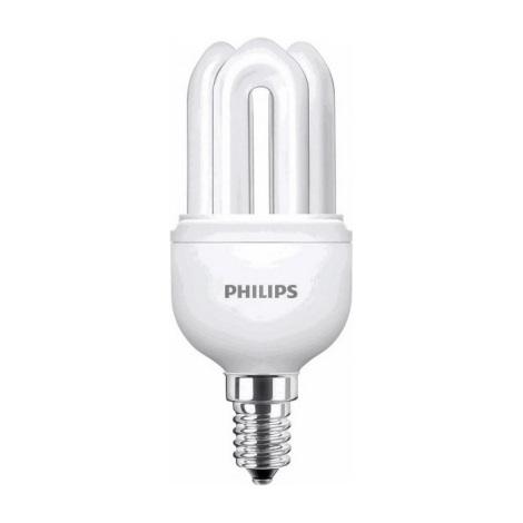 Úsporná žárovka Philips E14/8W/230V 2700K