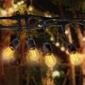 Venkovní dekorační řetěz GIRLANDA 15 m 15xE27/10W/230V IP44