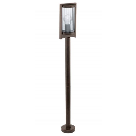 Venkovní lampa BAGAOS 1xE27/60W antická hnědá