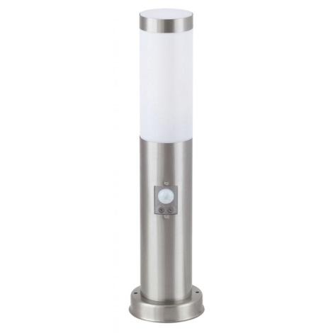 Venkovní lampa INOX se senzorem 445mm