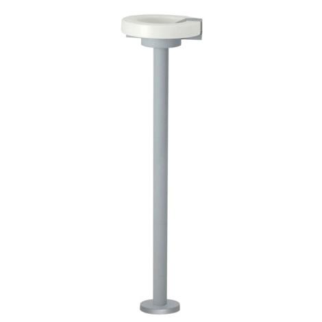 Venkovní lampa ROI 1x2GX13/22W stříbrná / bílá