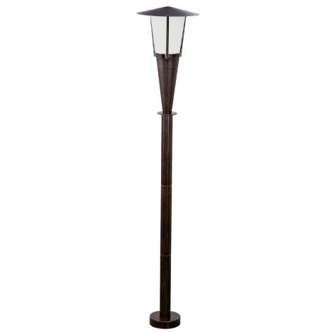 Venkovní lampa SAN MARINO 1xE27/60W antická hnědá/bílá