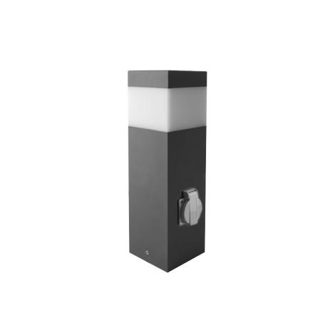 Venkovní lampa se zásuvkou GARD 1xE14/60W/230V IP44