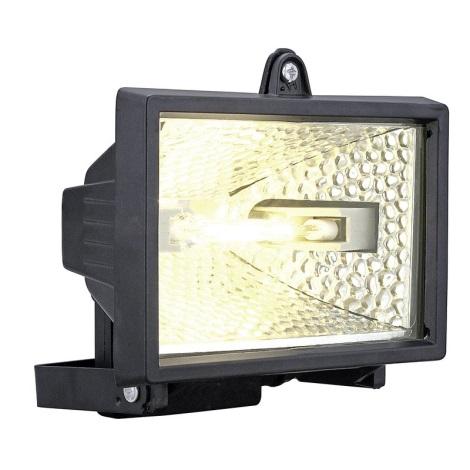 Venkovní reflektor ALEGA 1xR7s/400W černá