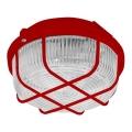 Venkovní stropní svítidlo 1xE27/100W/230V červená IP44
