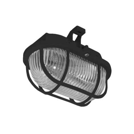 Venkovní stropní svítidlo OVAL 1xE27/60W/230V IP44