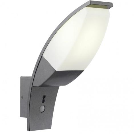 Venkovní svítidlo PANAMA se senzorem antracit