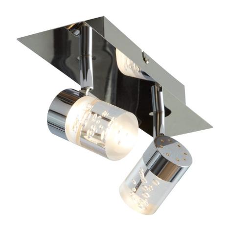 Wofi 7806.02.01.0044 - LED Bodové svítidlo MAAR 2xLED/5W/230V