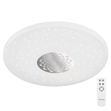 Wofi 9934.01.06.6000 - LED Stmívatelné stropní svítidlo MORIS LED/20W/230V + dálkové ovládání