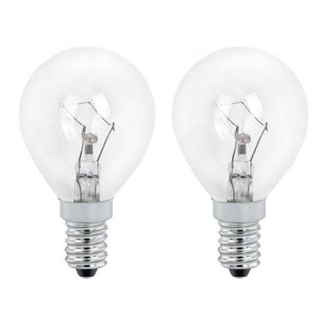 Žárovka 1xE14/60W čirá sada 2 žárovek