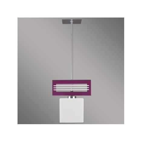 Závěsné svítidlo SANGA 1xE14/60W fialová